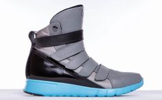 87cf0feadacd Women s Prime Trainer Grey Black Aqua Gym Sneakers Image 1 Apocalyptic  Clothing