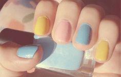 beautiful nail, nail art, cute nails,