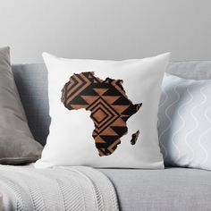 Simple Minimalist Africa Map ~ Never Forget Your Roots with African Tribal Pattern Background . Find this Cool and Unique design available in T Shirt, Tote Bag, Hoodie, Tank and more. Home Decor Stuff like: Poster, Canvas Print, Throw Pillows, Floor Pillow, Duvet Cover, Throw Blanket, Shower Curtain, Comforter, Wall Tapestry and more. Also Phone Case, Laptop Case, Sticker etc. Best Gift Idea for yourself or your Loved ones! #africa #african #roots #blm #black #throw #pillow #pilllows… Tribal Pattern Background, African Tribal Patterns, Floor Pillows, Throw Pillows, African Map, African Mud Cloth, Clothing Patterns, Wall Tapestry, Comforters