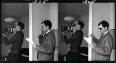 Raoul Coutard and Jean - Luc Godard