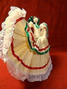 Mexican Corn Husk Doll