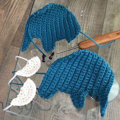 Hračka: Háčkovaný slon Crochet Hats, Detail, Blog, Knitting Hats, Blogging
