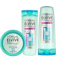 LOreal Paris Elvive Extraordinary Clay haircare bundle - Boots - for hair type like mine - oily roots and dry ends.