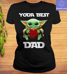 Star W.a.r.s Baby Yoda Hugging Heart Yoda Best Dad T-shirt – Ronole Yoda T Shirt, Star Wars Baby, Fathers Day Shirts, Mosaic Wall, Best Dad, Dads, Heart, Prints, Disney