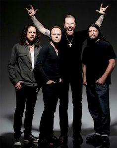 Kirk Hammett/Lars Ulrich/James Hetfield/Robert Trujillo