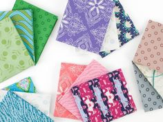 Freespirit Essentials Fat Quarter Fabric Bundle Quilt Supplies