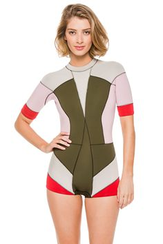Cynthia Rowley's Color Block Wetsuits Wetsuit | Everything But Water