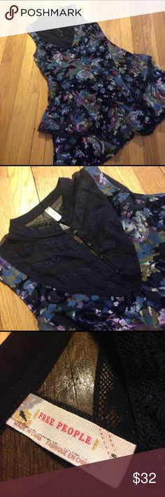 Gorgeous Free People Summer Scene Stealer Grab it before someone else. Love this rayon and silk blend fully lined mini. Free People Dresses Mini