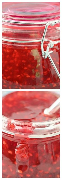 Old Fashioned Raspberry Preserves