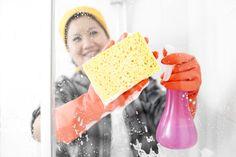 How to Clean Shower Doors - Bob Vila Grout Cleaner, Shower Cleaner, Cleaning Hacks, Cleaning Supplies, Cleaning Products, Clean Shower Doors, Natural Showers, Bathroom Repair, Bob Vila