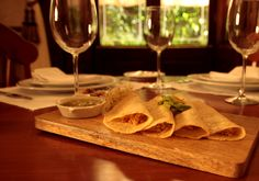 Tacos de escamoles  gastronomia mexicana