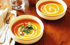 A deliciously spicy pumpkin soup recipe for warming up through the colder months. Serve with your favourite crusty bread.