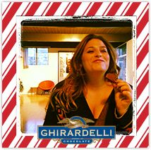 I made and shared a holiday card and got a $2.00 Ghirardelli SQUARES® coupon! Join in the fun!