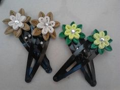 Quilling clips