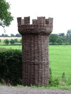 #Wicker Rook #Chess #Piece by wicker liked from a... | Wicker Blog  wickerparadise.com