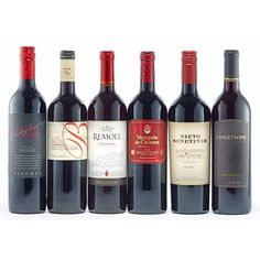Quintessential Reds Wine Collection (130 CAD) ❤ liked on Polyvore featuring home and kitchen & dining