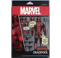 Deadpool Poster Actionfigur