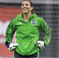 Hope Solo. (Instagram)