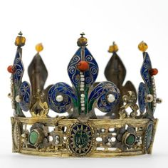 Mary of Burgundy crown 15th c. France