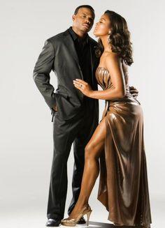 Laila Ali and her husband