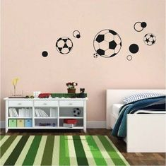 Soccer Ball Wall Stickers - Trendy Wall Designs