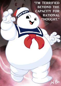 Stay Puft Marshmallow Man by kevinbolk on deviantART