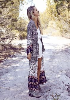 AUGUSTE's Gypsy Duster teamed with the Penny Lane Playsuit  http://www.lionofthedesert.com.au/auguste-/115-auguste-gypsy-duster-desert-dreams.html  http://www.lionofthedesert.com.au/auguste-/110-auguste-penny-lady-playsuite-white.html