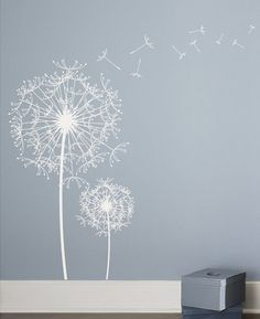white tree wall decal | wall decals: thoughts? {and little giveaway} | Inspired by Charm