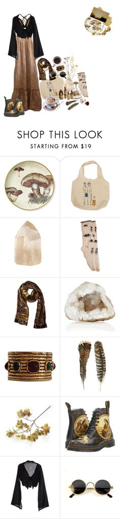 """""""light through the leaves"""" by lilbumblebabe ❤ liked on Polyvore featuring TIBI, N°21, Overland Sheepskin Co., Chanel, Crate and Barrel, Dr. Martens, Yohji Yamamoto and Rock 'N Rose"""