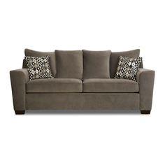 Simmons Upholstery Roxanne Queen Sleeper Sofa