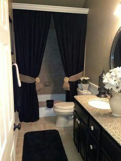 like the idea of molding over the shower curtain rod, but hang at ceiling height