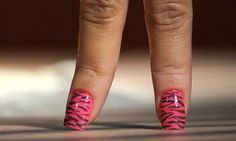 Nail Art - as cores utilizadas fazem parte da coleção África à Vista (Colorama)
