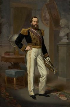 Today I'm sending my first submission for you :D This is Pedro II, he was the second and last ruler of the Empire of Brazil, reigning for over 58 years. His father's abrupt abdication and flight to Europe in 1831 left a five-year-old Pedro II as. Dom Pedro Ii, Learn Brazilian Portuguese, Academic Art, Culture, The Grandmaster, Actors, The Past, Royalty, Paintings