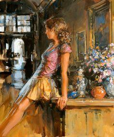 Paul Hedley 1947 | pintor figurativo británico