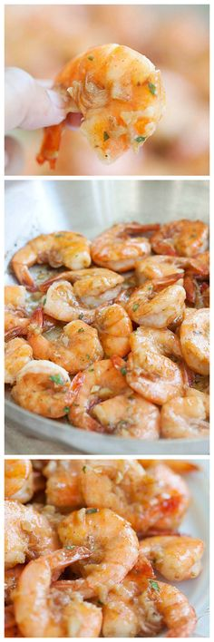Hawaiian shrimp scampi made famous by Giovanni's shrimp truck. Easy shrimp scampi recipe using shrimp, garlic, butter, olive oil and lemon juice, so YUMMY you will want to gobble them up yourself | rasamalaysia.com