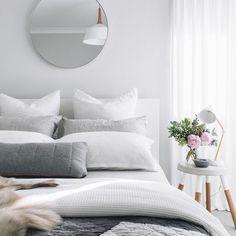 """Blog de Decoração Perfeita Ordem: Cores tranquilas no quarto... Como dar um """"up"""" nesse ambiente"""