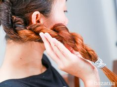 How to Make a Rope Braid. Do you love the way rope braids look, but are not sure how to do them? A pretty and unusual rope braid looks much more difficult than it really is. Once you understand how the braid works, you will be able to. Classic Hairstyles, Braided Hairstyles, Babyliss Twist Secret, Rope Braid, Diy Braids, Hair Strand, Plait, French Braid, Hair Hacks
