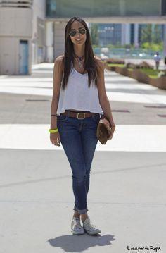 Si eres de esas chicas que no les gusta usar tacones, este outfit es perfecto para ti.