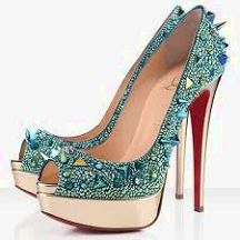 Christian louboutin shoes These are just perfect heeled shoes for any heel addict, note the traction they are gonna provide.