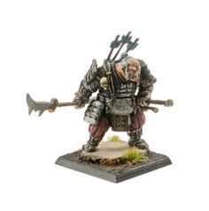 Set contains 1 resin Ogre Mercenary  Ronin from the Land of the Rising Sun with scenic base 40x40mm, ideal for use with. It's multi-part miniature + alternative head Supplied unpainted. This kit requires