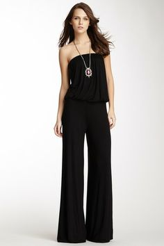 Sydney Strapless Jumpsuit by Young Fabulous & Broke on @HauteLook.  Does anyone want to buy this for me?