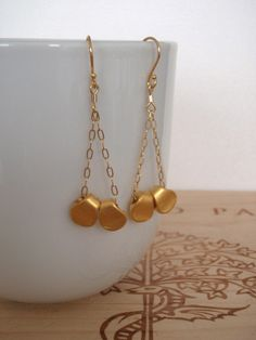 CHERYL in Gold from The Vault Jewels etsy shop  $24