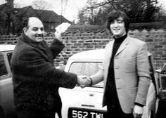 John passing his driving test