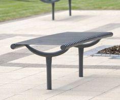 guyon mobilier urbain banc banquette metal weyburn / Guyon street furniture WEYBURN metal bench
