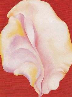 O'Keeffe. Shell on Red 1931