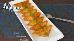 Baklava Yufkasından Şöbiyet Tarifi Tart, Pineapple, Food And Drink, Sweets, Cooking, Desserts, Turkish Cuisine, Turkish Recipes, Food And Drinks