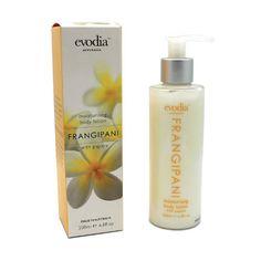 Evodia Frangipani Moisturizing Body Lotion W Papaya and Sunflower Seed Oil 200ml #Evodia