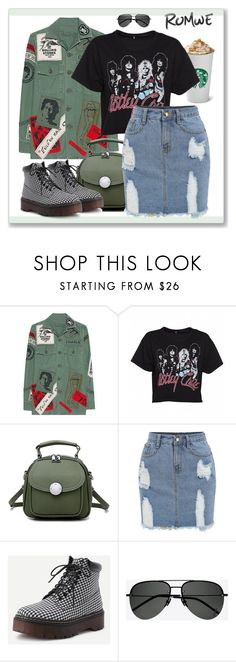 """rockk####"" by sabine-herrlock ❤ liked on Polyvore featuring MadeWorn and Yves Saint Laurent"