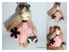Doll brooch/Broche de muñeca. R.oepm. Diseño industrial.