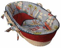 Ahoy! Moses Basket $150